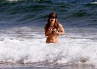 Hot chick posing in her bikini